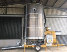 mecmar D20 20 ton automatic mobile grain drier ,
