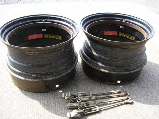 Stocks 15x34 Dual Wheel Rims