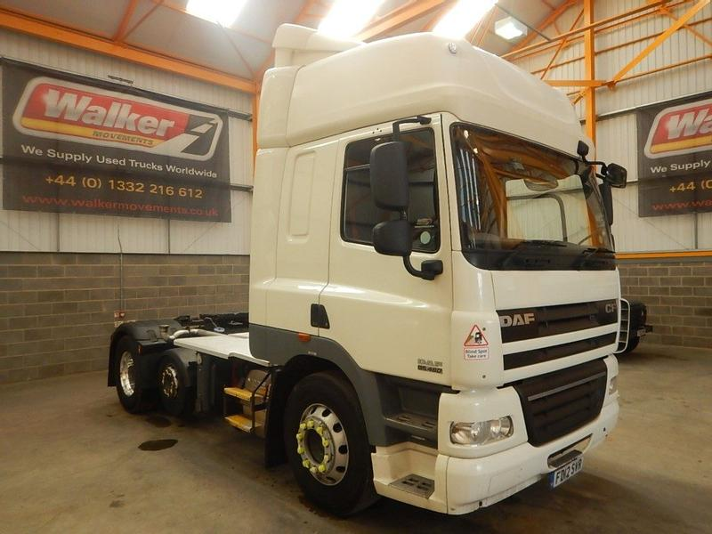 Daf CF85 SPACE CAB 6 X 2 FTP EURO 5 TRACTOR UNIT - 2012 - FD12 SVR