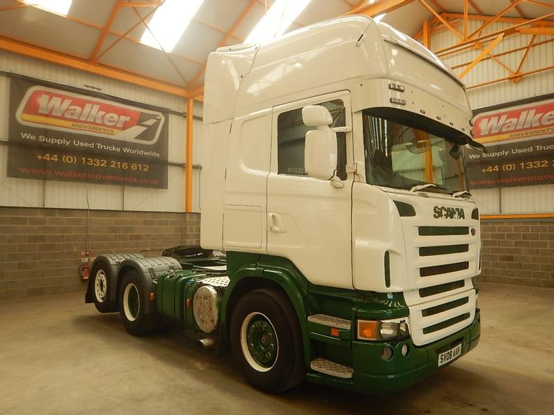 Scania 500 V8 TOPLINE 6 X 2 TAG AXLE TRACTOR UNIT - 2008 - SV08 AAN