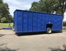 2x Mestcontainer 45 m3