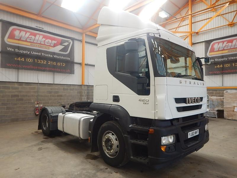 Iveco STRALIS ACTIVE TIME EURO 5, 4 X 2 TRACTOR UNIT - 2010 - YJ60 MHF